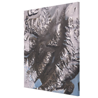 The McMurdo Dry Valleys Canvas Print