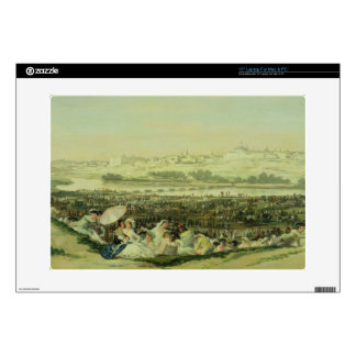 The Meadow at San Isidro, 1788 (oil on canvas) Decals For Laptops