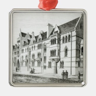 The Meadow Buildings, Christ Church, Oxford Metal Ornament