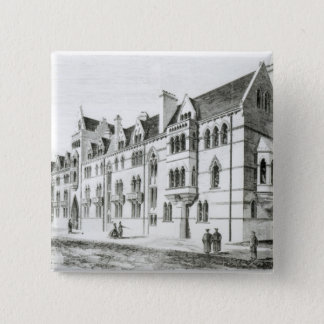 The Meadow Buildings, Christ Church, Oxford Pinback Button