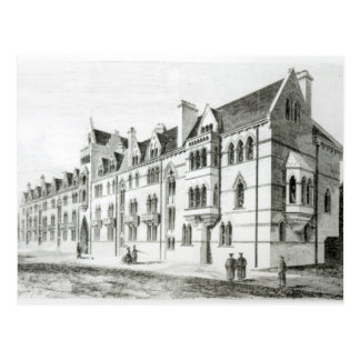 The Meadow Buildings, Christ Church, Oxford Post Card
