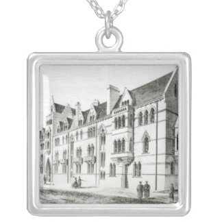 The Meadow Buildings, Christ Church, Oxford Silver Plated Necklace