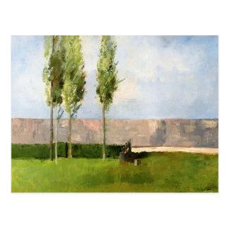 The Meadow by Odilon Redon Postcard