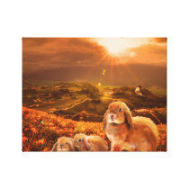 The Meadow.. Canvas Print