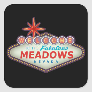 The Meadows Square Sticker