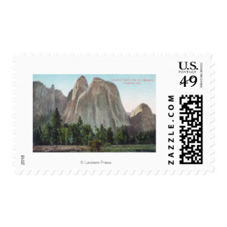 The Meadows View of Cathedral Rocks Stamp