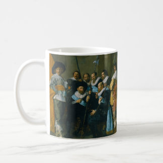 The Meagre Company by Frans Hals 1637 Coffee Mug