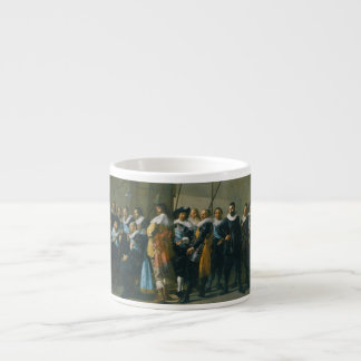 The Meagre Company by Frans Hals 1637 Espresso Cup