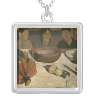 The Meal , 1891 Personalized Necklace