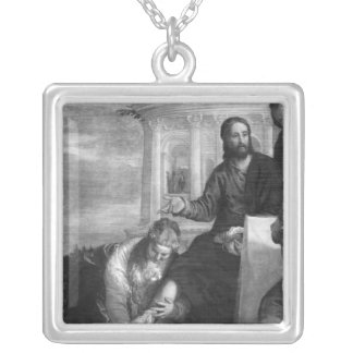 The Meal at the House of Simon the Pharisee Custom Necklace