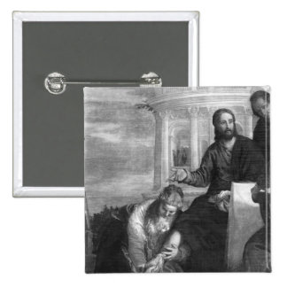 The Meal at the House of Simon the Pharisee Pinback Button