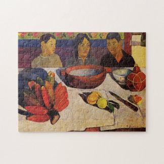 'The Meal' - Paul Gauguin Jigsaw Puzzle