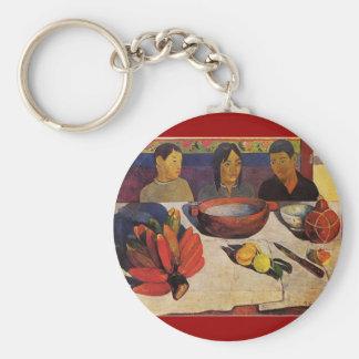 'The Meal' - Paul Gauguin Keychain