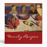 'The Meal' - Paul Gauguin Recipe Binder