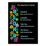 The Meaning of Aloha Card