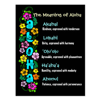 The Meaning of Aloha Postcards