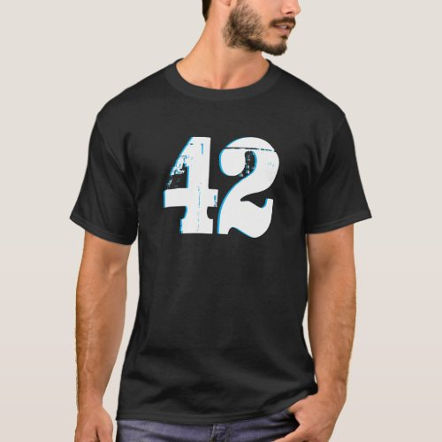 THe meaning of life is  42 T_Shirt