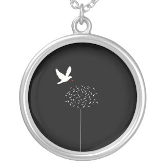The  meaning of Life Silver Plated Necklace