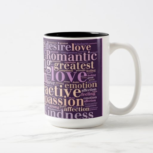 The Meaning of Love Collage Coffee/ Travel  Mug