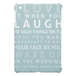 The Meaning of Love iPad Case