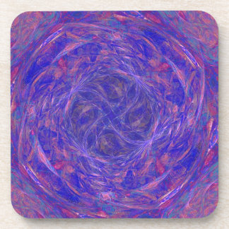 The Meaning of Purple Beverage Coaster
