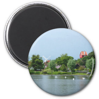 The Meare Thorpness Suffolk 2 Inch Round Magnet