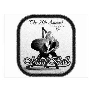The meatball postcard
