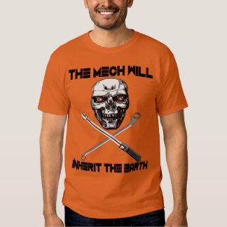 The Mech Will Inherit the Earth Shirt