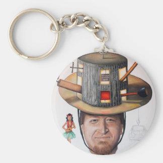 The Mechanic-Thinking Cap Series Keychain
