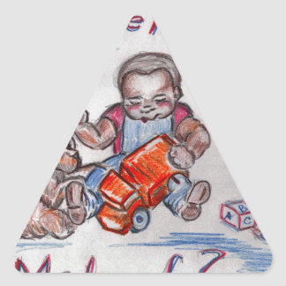 The Mechanic Triangle Sticker