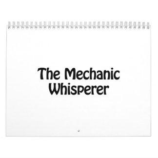 the mechanic whisperer calendar