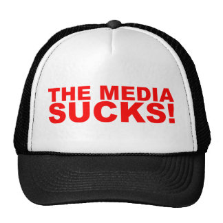 The Media Sucks! Trucker Hat