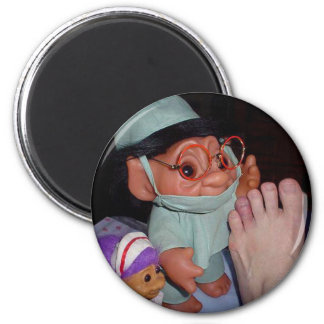 The Medical Team 2 Inch Round Magnet