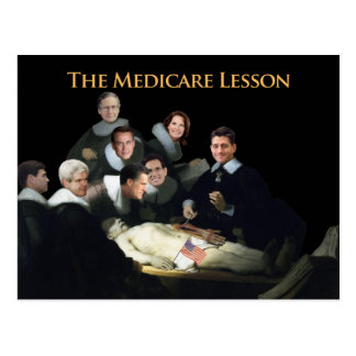 The Medicare Lesson Postcard