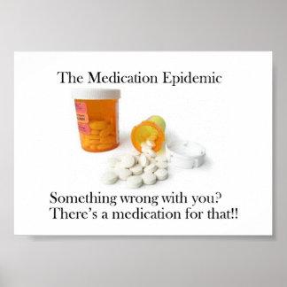 The Medication Epidemic Poster