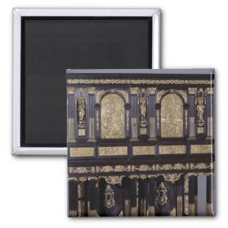 The Medici Cabinet, French, c.1630 2 Inch Square Magnet