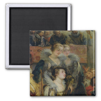The Medici Cycle 2 2 Inch Square Magnet