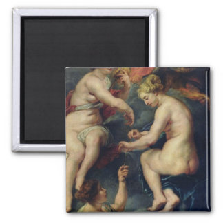 The Medici Cycle 2 Inch Square Magnet