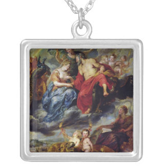 The Medici Cycle 2 Silver Plated Necklace