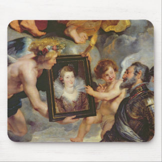 The Medici Cycle: Henri IV  Receiving Portrait Mouse Pad