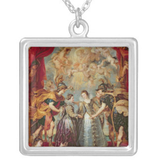 The Medici Cycle Silver Plated Necklace