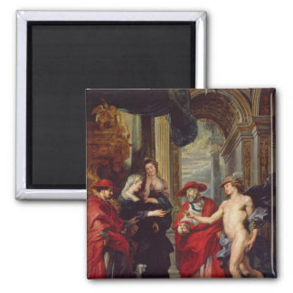 The Medici Cycle: The Treaty of Angouleme 2 Inch Square Magnet