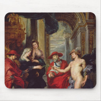 The Medici Cycle: The Treaty of Angouleme Mouse Pad