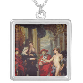 The Medici Cycle: The Treaty of Angouleme Silver Plated Necklace