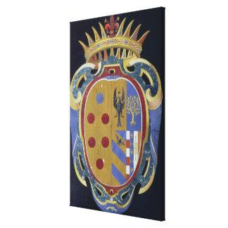 The Medici-Lorena Coat of Arms, c.1638 (pietra dur Canvas Prints
