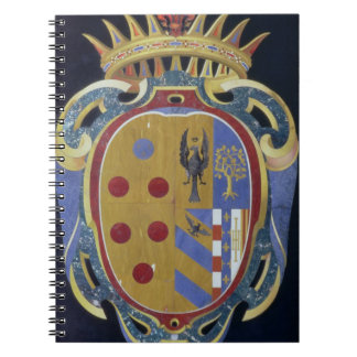 The Medici-Lorena Coat of Arms, c.1638 (pietra dur Notebook