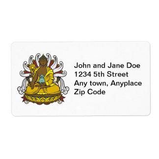The Medicine Buddha Label