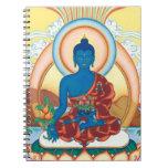 The Medicine Buddha - Master of Healing Spiral Note Book