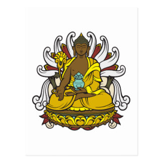 The Medicine Buddha Postcard