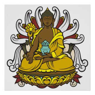The Medicine Buddha Poster